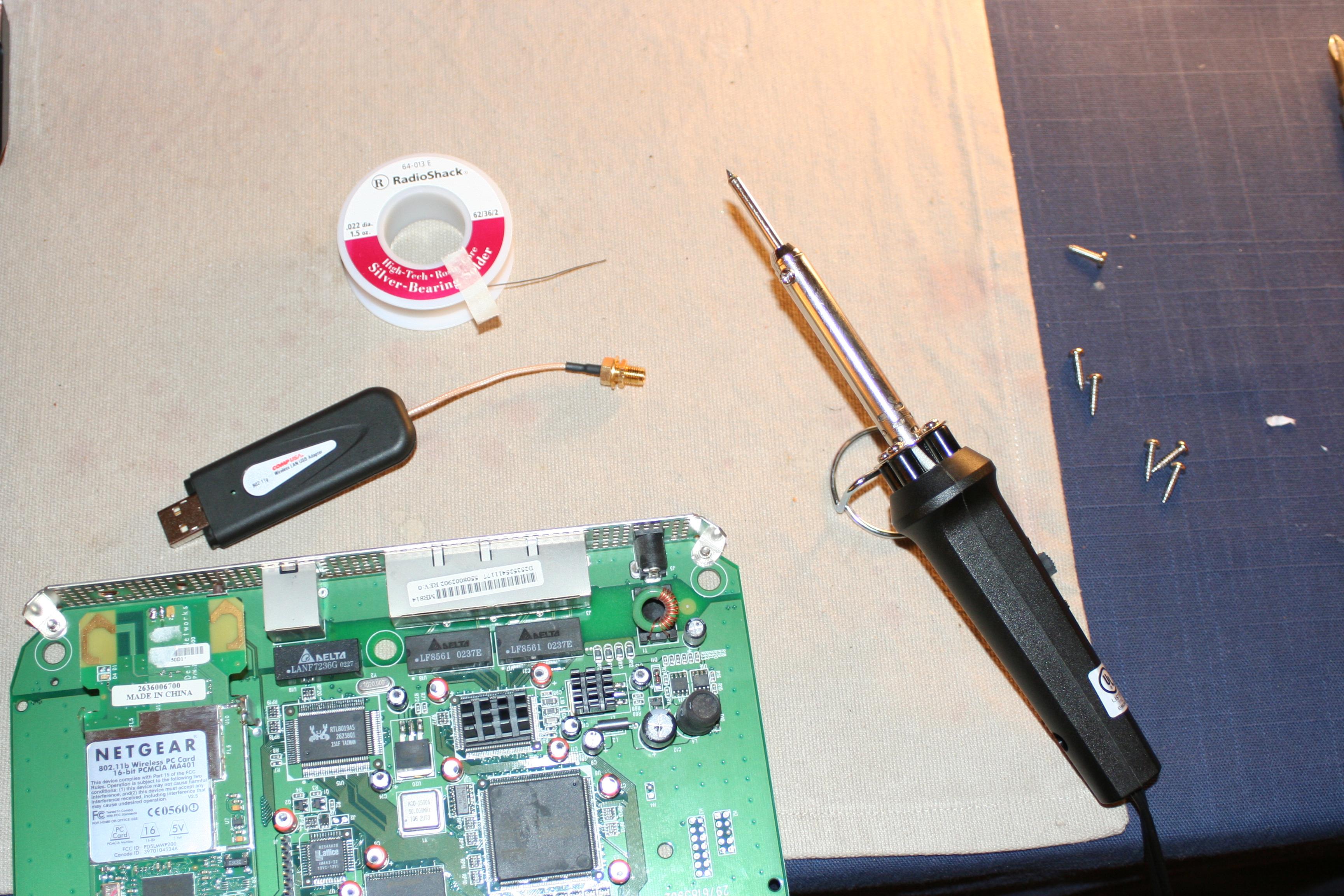 Направленная антенна для wifi адаптера